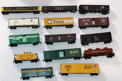 $ CDN10.70 • Buy VINTAGE LOT 14 HO Scale Train Cars Life Like & Other Brands