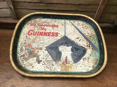 £20 • Buy Vintage Guiness Pub Tray