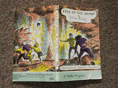 £4 • Buy Stig Of The Dump By Clive King Paperback Puffin 1975