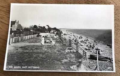 £4.38 • Buy The Sand East Wittering Chichester West Sussex Post Card