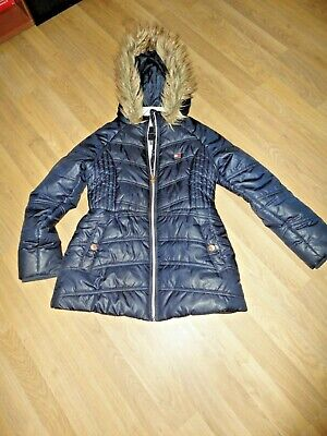 £10 • Buy Tommy Hilfiger Down Winter Coat Size M 8-10 Yrs