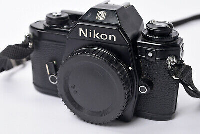 £12.50 • Buy Nikon EM 35mm SLR Camera Body Only With Neck Strap - For Parts Or Repair