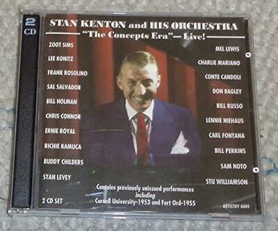 £14.50 • Buy Stan Kenton And His Orchestra - The Concepts Era Live