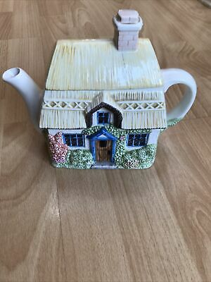 £6.50 • Buy Western House The Village Teapot Collectables SUMMER COTTAGE Teapot Annie Rowe