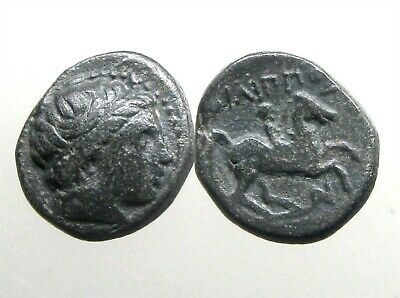 $9.50 • Buy PHILIP II MACEDONIA AE18___3 Time Olympic Champion__FATHER OF ALEXANDER - GREAT
