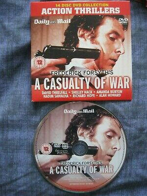 £0.99 • Buy Action Thrillers.Frederick Forsyth's.A CASUALTY OF WAR.Daily Mail Promo DVD.NEW.