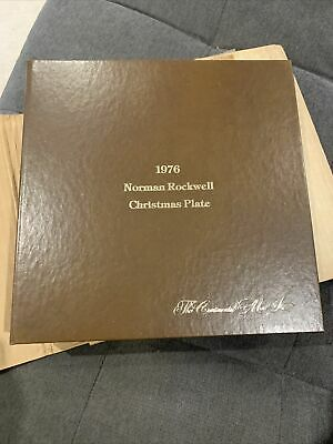 $ CDN7.54 • Buy 1976 Norman Rockwell Christmas Plate The Continental Mint Inc.