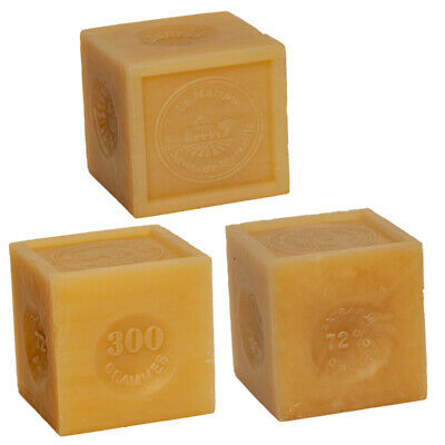 £13.95 • Buy Savon De Marseille 3 X 300g - French Soap Cubes Made With Organic Vegetable Oil