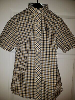 £50 • Buy Fred Perry Reissues Check  Gingham 1964 Button Down Mod Skin Girl New 8