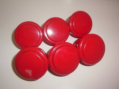 £5.99 • Buy 6x Giant 46mm Sanwa SOBSF-40 Snap In Arcade Buttons 40mm Mounting Hole Joystick