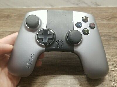 $17.99 • Buy ☆USED☆ ~Ouya OGC1 Wireless Bluetooth Black Silver Controller Only~ ☆LOOK☆