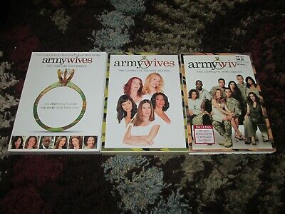 £24.18 • Buy Army Wives Season   1,2, 3   (DVD) W/ Slipcover Catherine Bell~~EUC~~Adult Owned