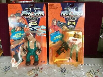 £72.10 • Buy Biker Mice From Mars Galoob Toys 1993 Action Figures Lot Of 2
