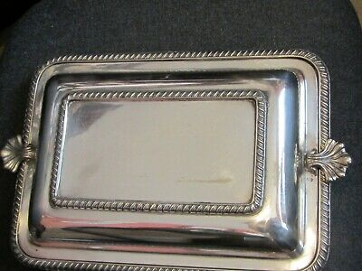 £13.99 • Buy Antique Silver Plated Entree/Serving Dish By Cooper Bros
