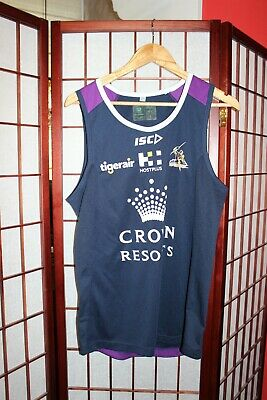 £20 • Buy Melbourne Storm Rugby League Player Training  Vest Jersey Size S . ALY