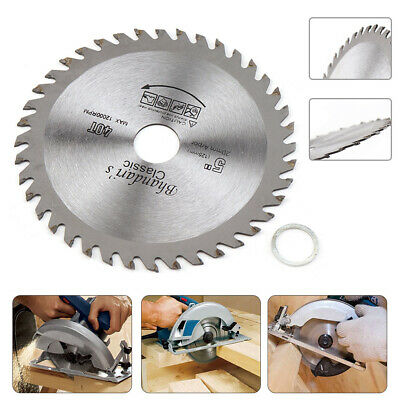 £4.81 • Buy 125mm 5Inch Circular Saw Blade Disc Bore 20mm Wood Cutting For Angle Grinder 40T