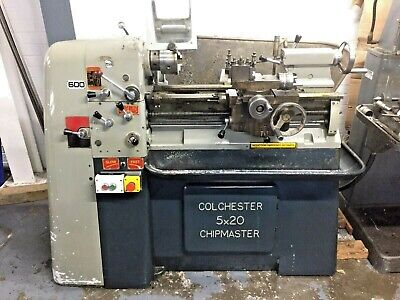 £4560 • Buy Colchester Chipmaster 5x20 Lathe Used S/N FCG7668 With Range Of Accessories