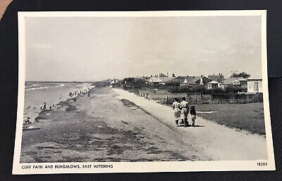 £4.38 • Buy Cliff Path And Bungalows East Wittering Chichester Wedt Sussex Post Card