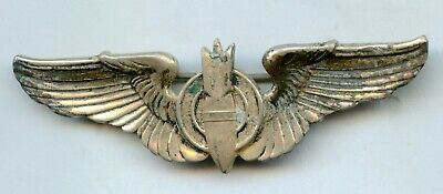 $44.99 • Buy Military 3  Pin Bomb With Wings Sterling Bombardier