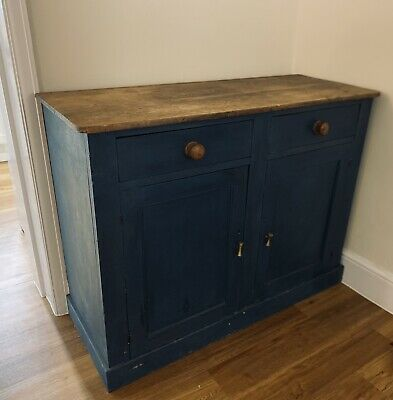 £150 • Buy Painted Cupboard - Annie Sloan Aubusson Blue