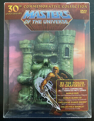 $320.41 • Buy He-man Masters Of The Universe 30th Anniversary Collection (2012, 30th, DVD OOP)