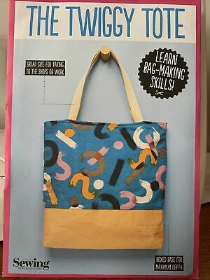 £1 • Buy Simply Sewing Pattern The Twiggy Tote New And Uncut
