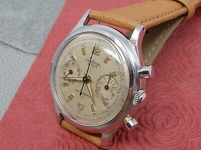 $ CDN730.29 • Buy Universal Geneve Uni-compax Chronograph Vintage All Stainless Steel Running!!
