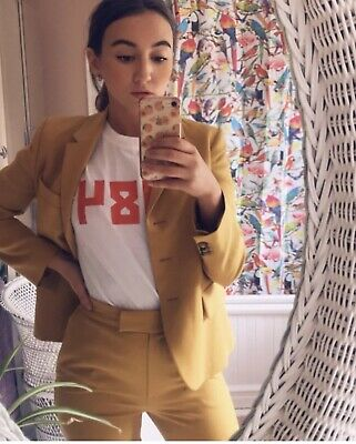 £50 • Buy Extremely Rare Unique One Off 'sample' Orla Kiely Suit Uk Size 8