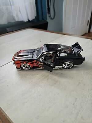 $0.99 • Buy Maisto  1967 FORD MUSTANG GT  Pro Rodz    Black W/Flames   1:24 Scale