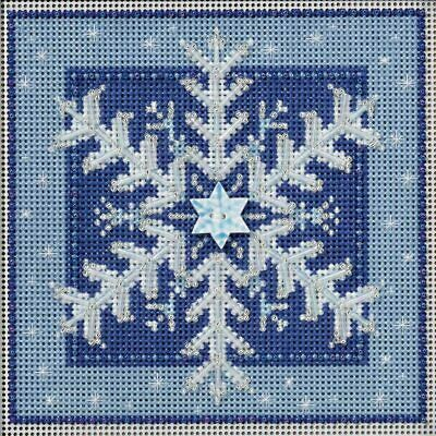 $12.99 • Buy Mill Hill 2016 Buttons & Beads Winter Series Cross Stitch Kit ~Crystal Snowflake