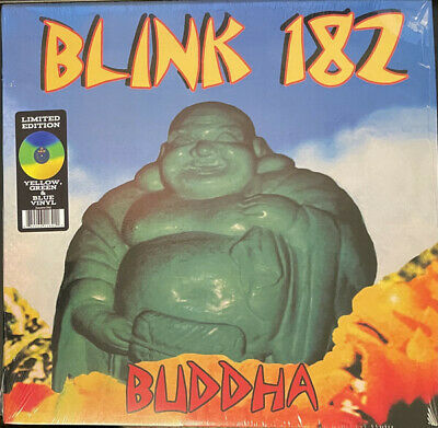 £46.62 • Buy Blink 182 Buddha Limited Tri-colour YELLOW / GREEN / BLUE Vinyl LP NEW/SEALED