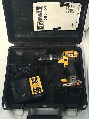£75 • Buy Dewalt DCD 785 Combi Drill With Battery/charger/and Carry Case