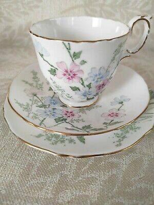 £9.99 • Buy Crown Staffordshire Trio.Vintage. Cup , Saucer And Side Plate