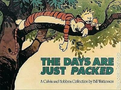 £4.20 • Buy The Days Are Just Packed: Calvin & Hobbes Series: Book Twelve (Calvin And Hobbes