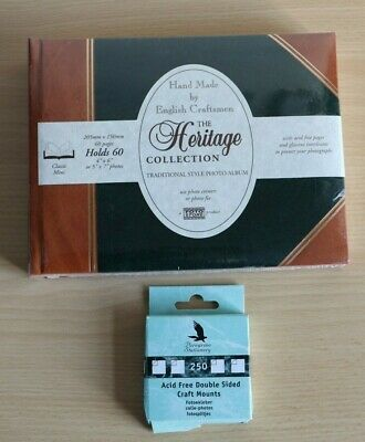£5.99 • Buy Heritage Collection Traditional Style Photo Album Classic Mini 5  X 7  Holds 60