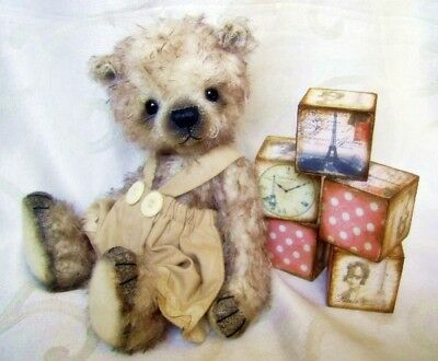 £38 • Buy Mohair Bear Sewing Kit 8.5 Inch Incudes Ready Made Trousers