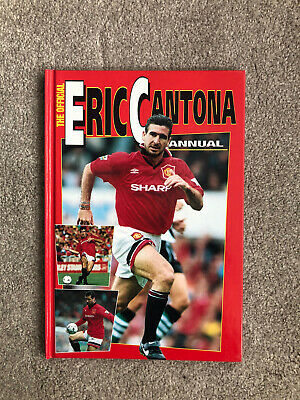 £2.50 • Buy Eric Cantona, The Official Annual, 1995, Manchester United, Hardback Book