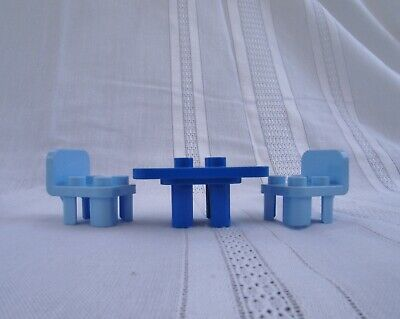 £5.39 • Buy Lego Duplo 6479 Replacement Blue Table & Chairs