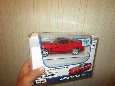 $5 • Buy Maisto Assembly Line Ford Mustang Boss 302 1:24 Scale