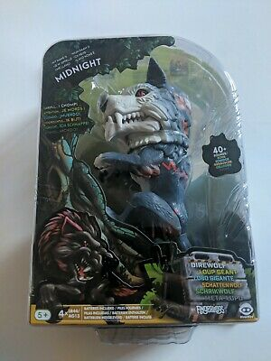 AU22.64 • Buy Fingerlings Untamed Interactive Midnight Wolf Toy New Wowwee Dinosaur Toys
