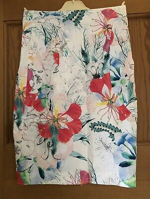£4.99 • Buy French Connection Cotton Stretch Skirt. Floral. Knee Length. Size 10.