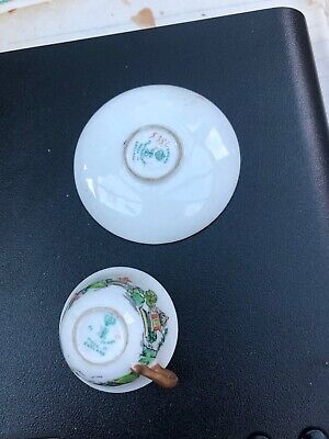 £6.50 • Buy Crown Staffordshire Miniature Cup And Saucer 5356 (Ye Olde Willow)