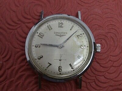 $ CDN62.69 • Buy Longines Vintage Stainless Steel Manual Wind Mans Wristwatch For The Collector.