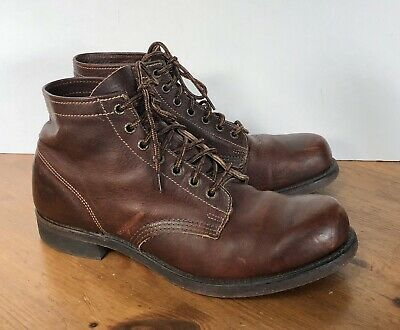 $149.99 • Buy FRYE Men's Whiskey Brown Leather Prison Boots Size 11