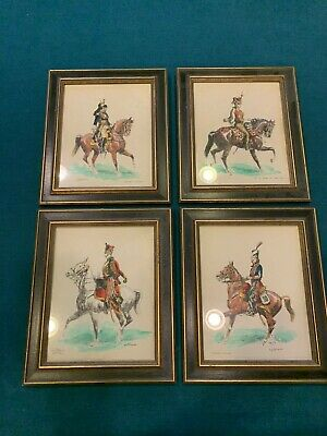 $69 • Buy Lot Of 4 Eugene Pechaubes Watercolor ART Or Hand Colored Prints Signed French +?