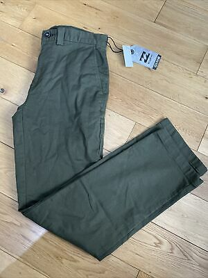 $20.95 • Buy Billabong Mens Carter Adventure Division Trousers Jean Military Green Size W30 R