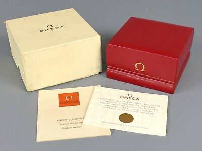 £51 • Buy Vintage 1960's / 70's Omega Watch Box For Seamaster Or Constellation    |75