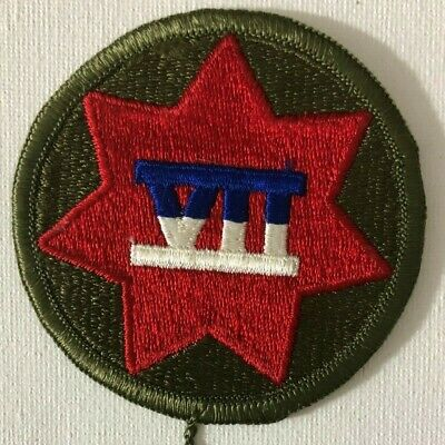 £8 • Buy US Army 7th Army Corps Patch Shoulder Sleeve Insignia