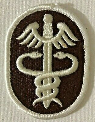 £7 • Buy US Army Health Services Command Colour Shoulder Sleeve Insignia Patch