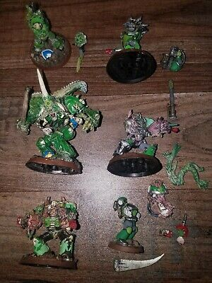 £7.15 • Buy  Lot Of Gw Warhammer Vintage 1999 Painted Figures Figurines Parts Assorted
